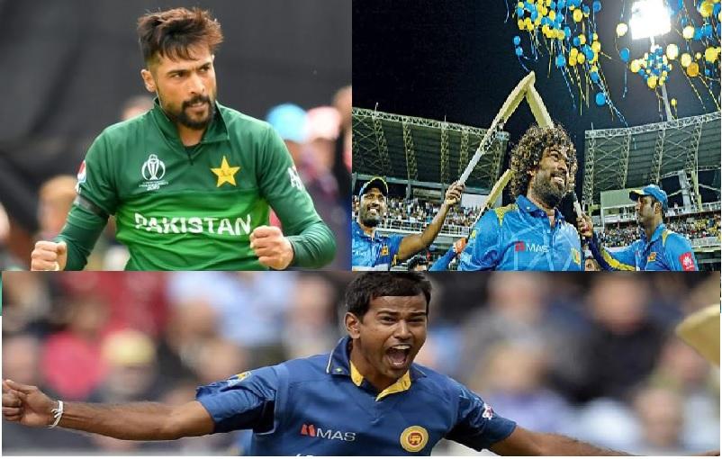 Cricket Players Muhammad Amir Lasith Malinga & Nuwan Kulasekara
