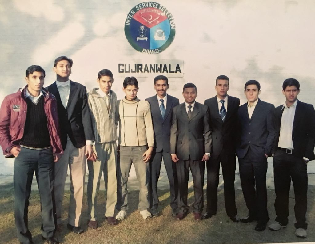 ISSB Group Photo Sanaullah Abro