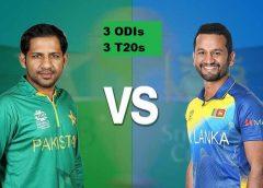 Pakistan VS Sri Lanka 3 ODIs 3 T20s 2019 confirmed