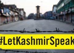 Amnesty International India campaign Let Kashmir Speak