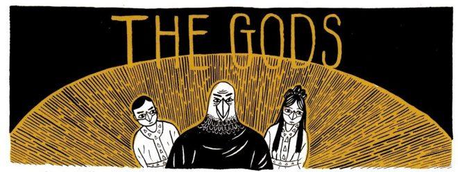The gods birdman and his children Ravens