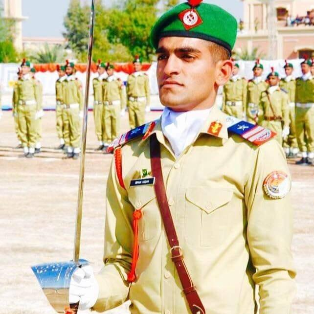 Inter Services Selection Board (ISSB) Irfan CCC of cadet college