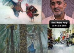 Abdul Majeed Mangi, An artist of Sindh – A Biography