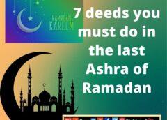 The last Ashra of Ramadan Gofrixty