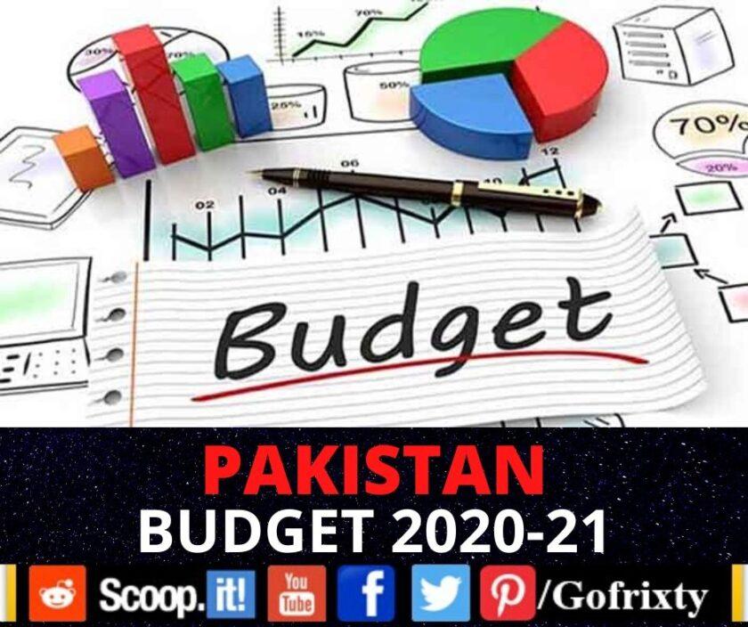 Budget 2020-21, Pakistan