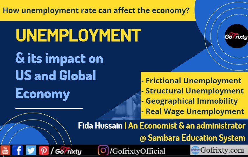Unemployment and its impact on US and global economy by Fida Hussain