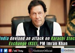 India devised an attack on Karachi Stock Exchange (KSE), Prime minister pakistan Imran Khan