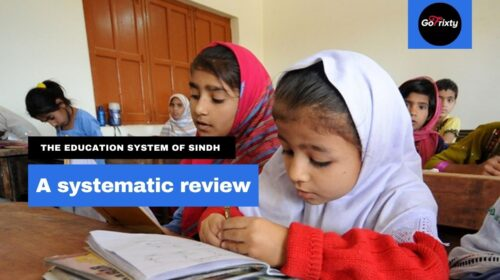 The education system of Sindh