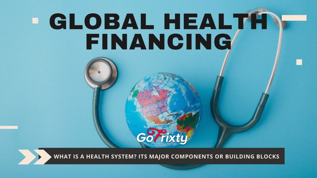 Global health financing health system and its major components